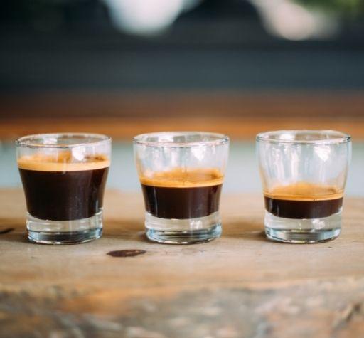 long shot vs ristretto vs espresso
