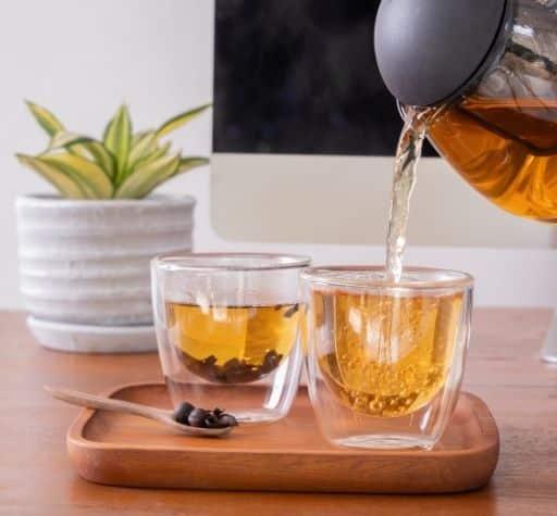 brew cascara tea